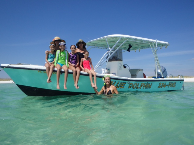 One Of Our Snorkeling Tour Boats In Panama City Beach Fl